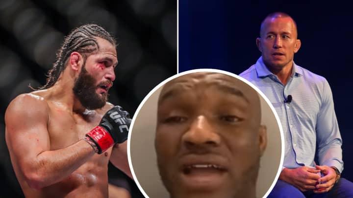 Kamaru Usman Eyes Fight With Georges St-Pierre And Brutally Mocks Jorge Masvidal