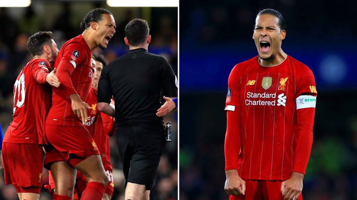 Virgil Van Dijk Gives Salty Response To Liverpool's Winning 'Just' The Premier League