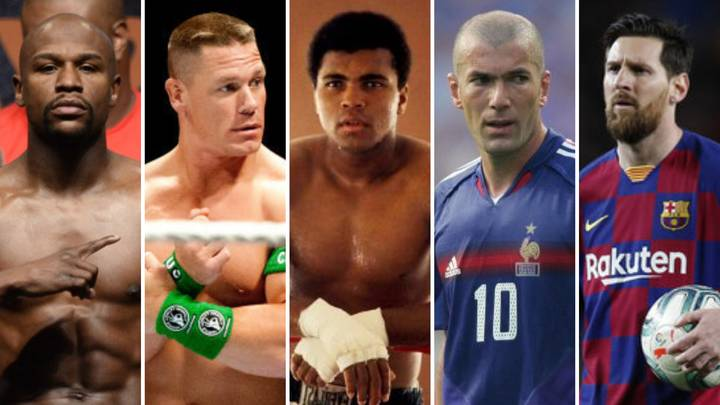The 50 Greatest Sports Athletes Of All Time Have Been Named And Ranked By Fans