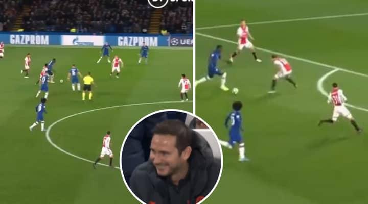 Kurt Zouma's Insane Dribble From Own Half Had Chelsea Fans On Their Feet