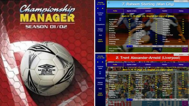 You Can Play Championship Manager 01/02 With Today's Squads
