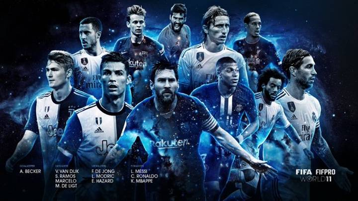 The FIFA FIFPro World XI Has Officially Been Revealed