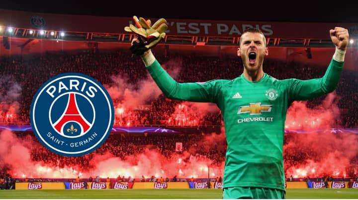 Paris Saint-Germain Willing To Offer David De Gea A Mega £450,000-A-Week  Contract - SPORTbible