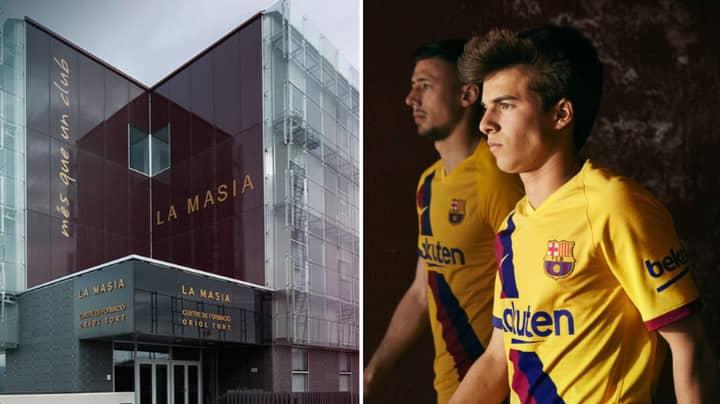 Barcelona Unveil Away Kit For Next Season As Tribute To La Masia