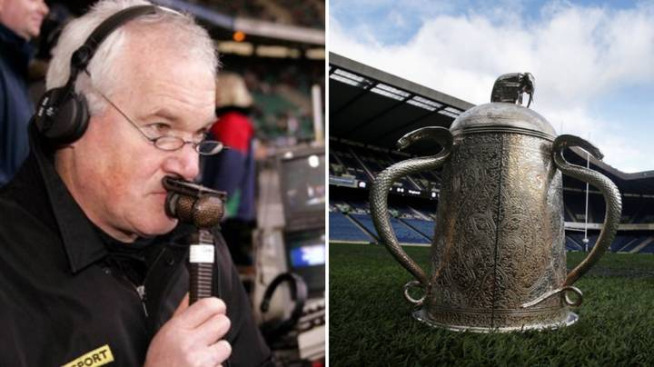 The Voice Of The Montage Eddie Butler Talks Calcutta Cup And Six Nations