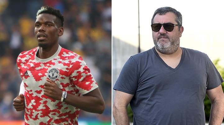 Mino Raiola Names The Club That Is In Paul Pogba's Heart Ahead Of Potential Transfer Away From Man United