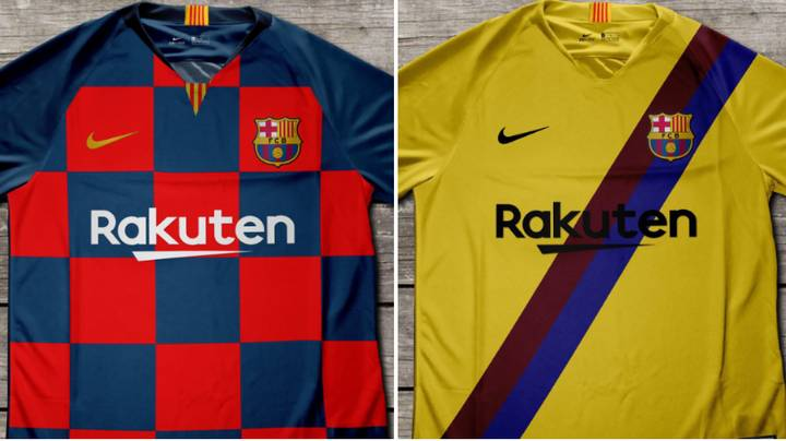Barcelona Kits For 2019/20 Season Have Been Leaked Online