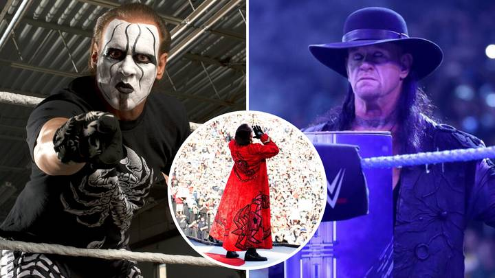 Sting Teases That A Dream WWE 'Face-Off' With The Undertaker Could Still Happen