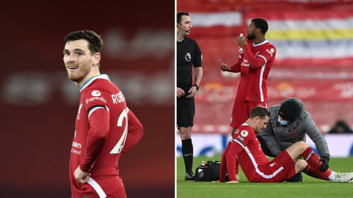 Andy Robertson Says No Team Would Have Dealt With Their Injuries