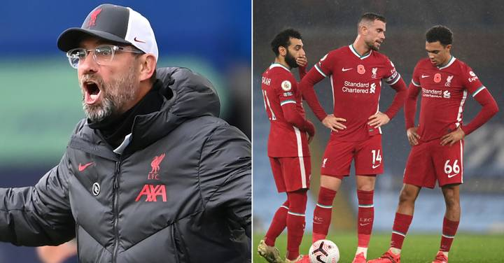 Premier League 'Injury Table' Shows Extent Of Fitness Crisis At Liverpool