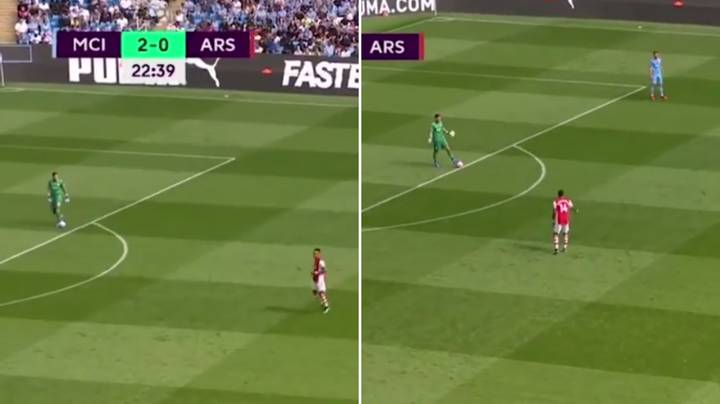 Damning Video Of Arsenal's 'Pressing' Against Man City Goes Viral