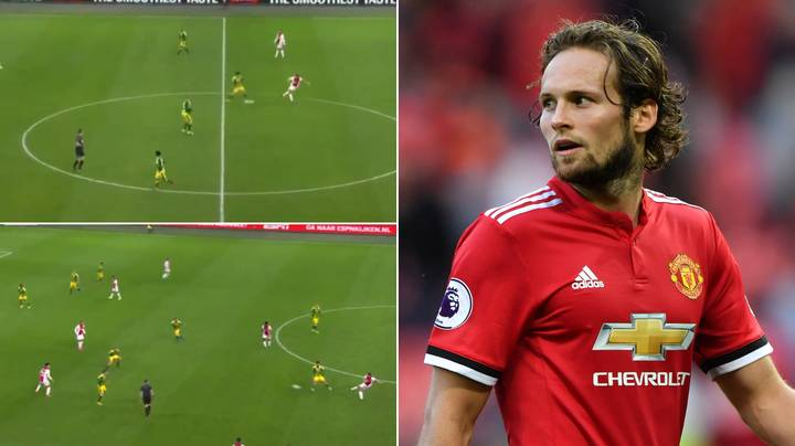 Compilation Of Daley Blind 'Breaking The Lines' Shows Manchester United Were Wrong To Sell Him
