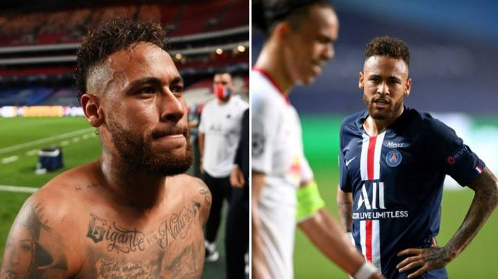 PSG Sweat Over Potential Neymar Champions League Final Ban