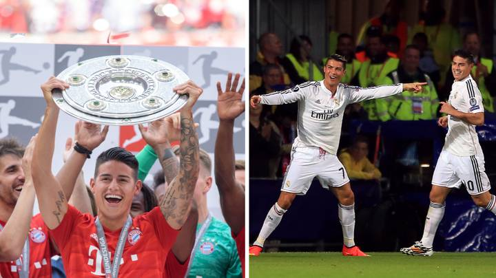 Cristiano Ronaldo Reportedly Wants James Rodriguez To Join Him At Juventus