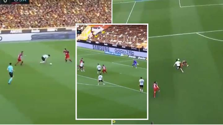 Goncalo Guedes Somehow Stays On His Feet And Beats Four Players To Score Superb Solo Goal