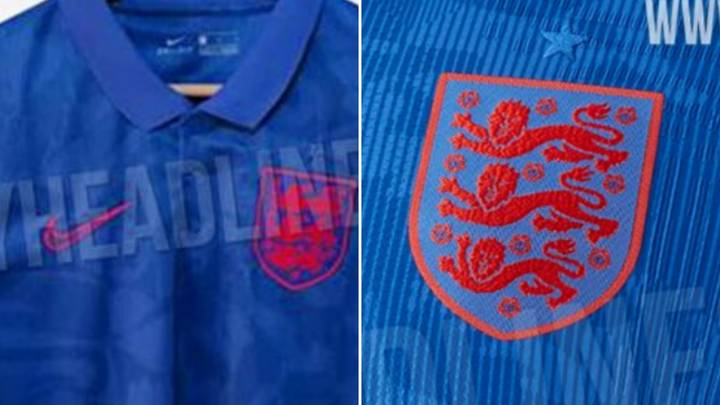 England's New Away Shirt For Euro 2020 Has Been Leaked And It's A Bold Effort