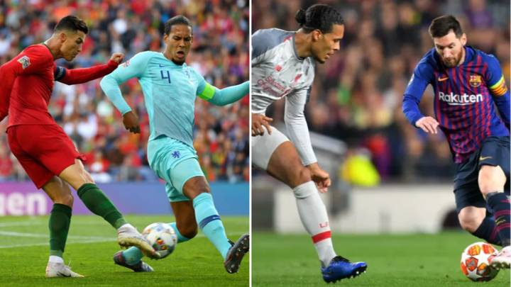 Virgil van Dijk Says Playing Street Football Made Him So Good In One-V-One Situations