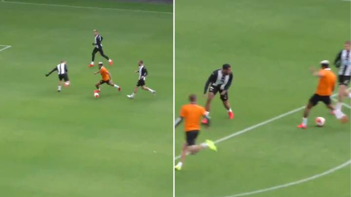 Newcastle Upload Footage From Training Match, Fans Immediately React
