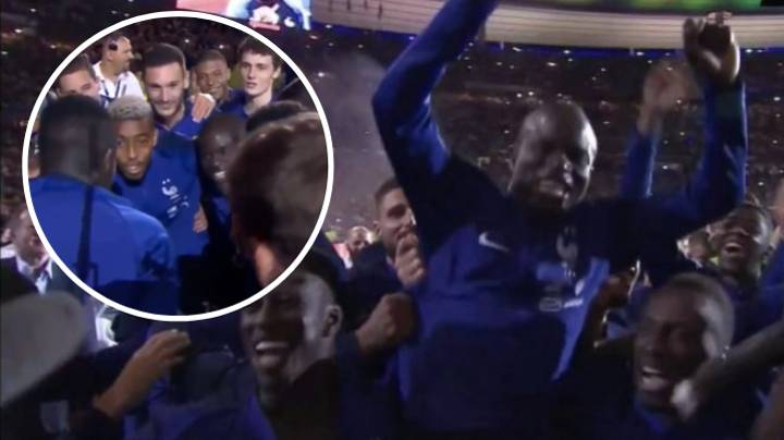 France Players Singing 'La Maison' Song With 80,000 Fans Is Still The Greatest Video Ever