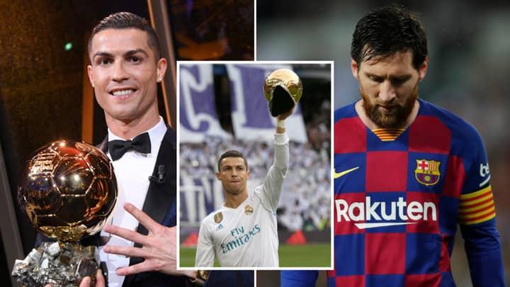 Cristiano Ronaldo Fan Slams Lionel Messi's Ballon d'Or Wins In Controversial Twitter Thread