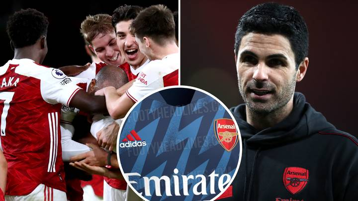 Arsenal's 'Leaked' Third Kit For 2021-22 Season Has Wowed Fans With Retro-Themed Design