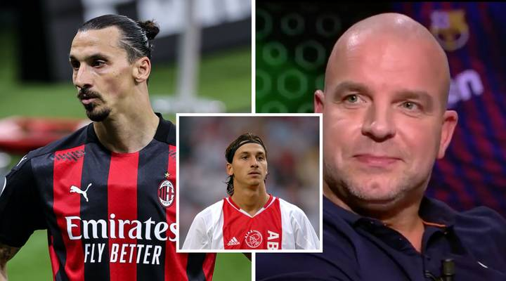 Zlatan Ibrahimovic Slapped A Teammate At Ajax For Kissing Him On The Lips