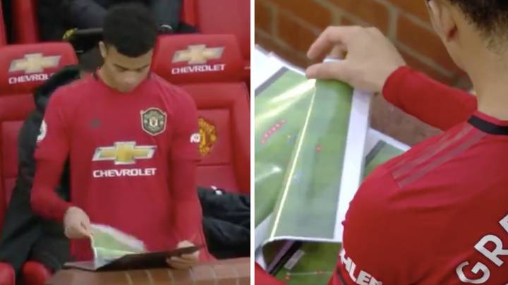 Sky Sports Cameras Zoom In On Manchester United's Tactics On Live TV