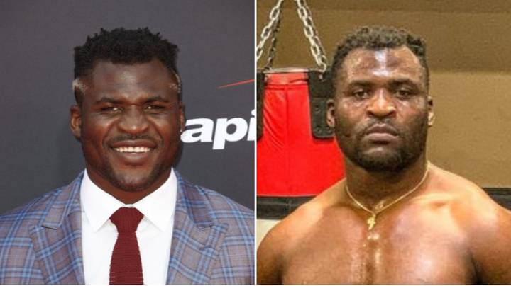 Francis Ngannou Is Looking Seriously Jacked Ahead Of Potential UFC 249 Fight