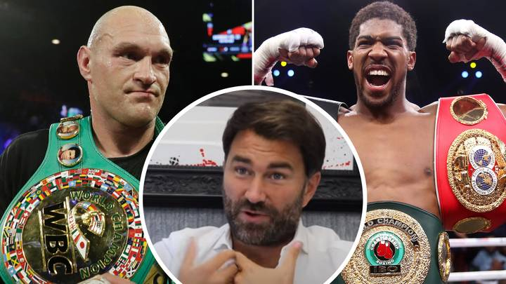 Eddie Hearn Responds To Rumours Of Anthony Joshua Vs Tyson Fury Costing £49.95