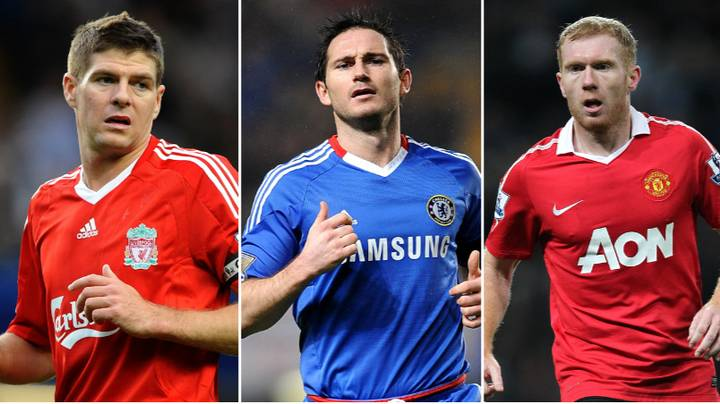Comparing Steven Gerrard, Frank Lampard And Paul Scholes By Their Career Ballon d'Or Votes