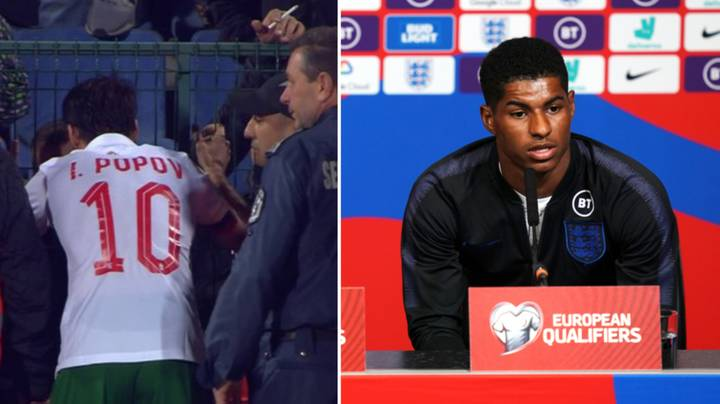 Marcus Rashford Sends Message To Bulgaria Captain After He Confronted Racist Fans At Half Time