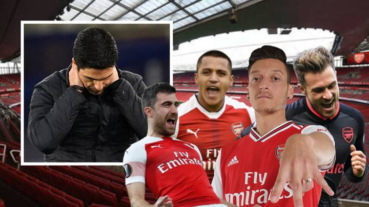 Arsenal Will Have Let £190 Million Worth Of Players Leave For Absolutely Free By This Summer