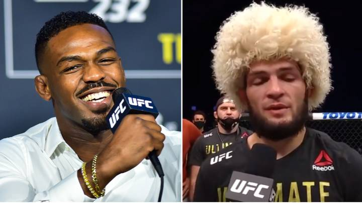Jon Jones Reacts To Khabib Nurmagomedov's Pound-For-Pound Push After UFC 254 Win