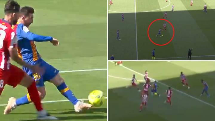 Lionel Messi Was So Close To Scoring His Greatest Ever Goal For Barcelona Against Atletico Madrid