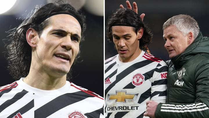 Edinson Cavani Breaks His Silence After Father's 'Unhappy' Manchester United Claims