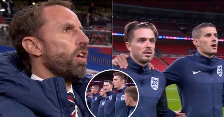 England Fans React To 'Tone Deaf' Singing Of Gareth Southgate And Players
