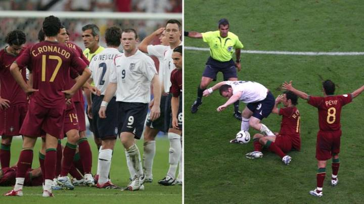 Wayne Rooney Reveals What He Said To Cristiano Ronaldo After World Cup Red Card