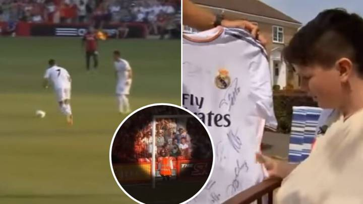 When Cristiano Ronaldo Broke A Bournemouth Fan's Wrist Playing For Real Madrid