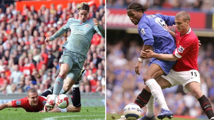 Nemanja Vidic Picks Out The Best Four Premier League Strikers He Came Up Against, Torres Misses Out