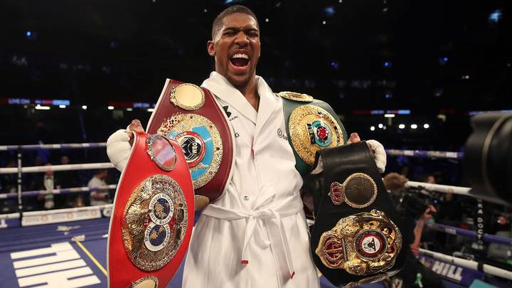 Anthony Joshua Ordered To Confirm Alexander Povetkin Fight In 24 Hours