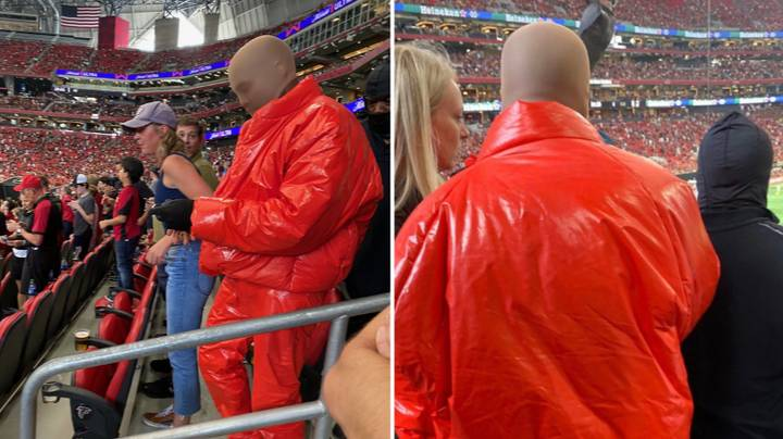 Kanye West Spotted In Crowd During Atlanta United vs Columbus Crew Game At Mercedes-Benz Stadium