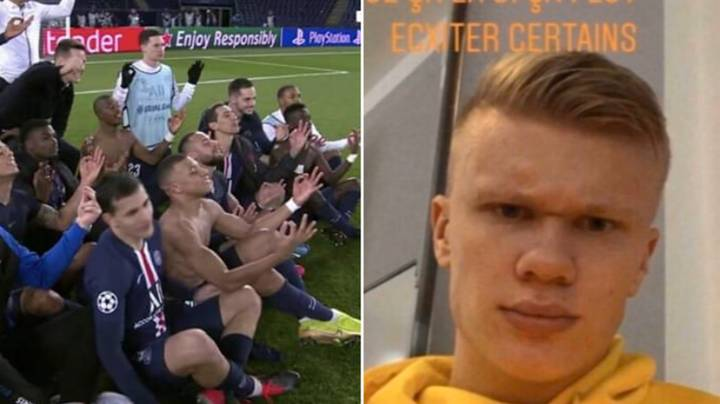 The Reason Neymar And PSG Players Mocked Erling Haaland