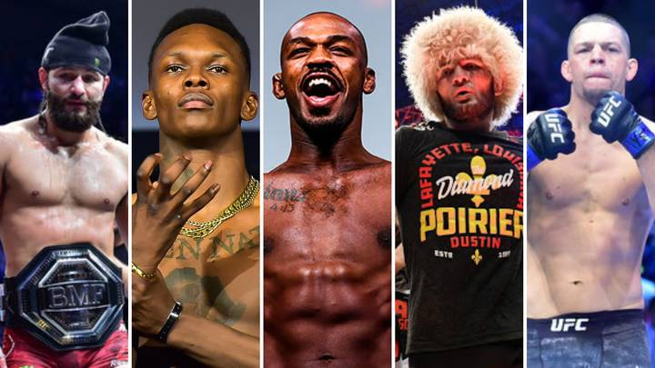The 50 Best Pound-For-Pound Fighters Active In MMA Have Been Ranked By Fans