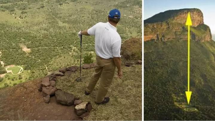 Only 14 People Have Scored Birdie On The World's Most Extreme Par 3 Golf Hole