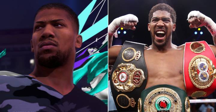 Anthony Joshua To Appear As Playable Character In FIFA 21