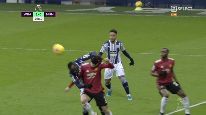 Manchester United Fans Are Fuming At VAR, Think Victor Lindelof Was Fouled For West Brom's Goal