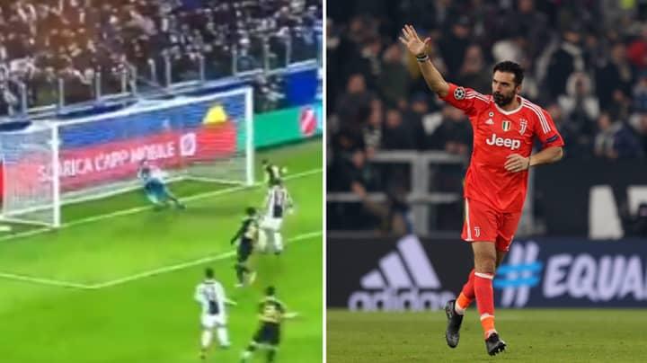 Gary Lineker Sums Up Gianluigi Buffon's Brilliant Career After Point Blank Save