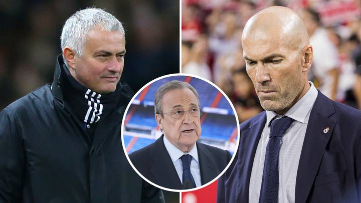 Jose Mourinho 'In Talks' With Real Madrid As Pressure Ramps Up On Zinedine Zidane
