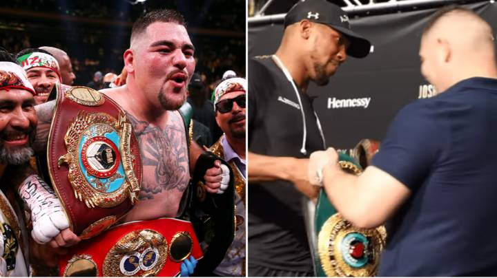 Andy Ruiz Jr's Damning Response When Asked If He'd Allow Anthony Joshua To Hold His Belts