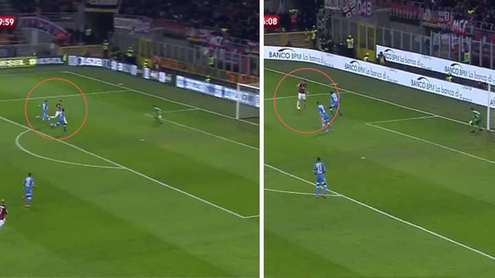 Krzysztof Piatek Scores Brilliant Goal On AC Milan Full Debut
